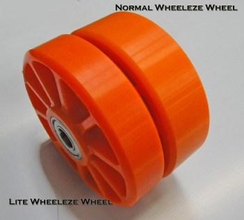 Orange Wheeleze - Lite Wheels