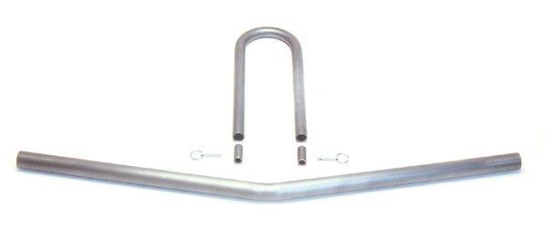 """C/E4035 -U-Bend Driveshaft Loop w/ Sleeves, Pins & 39"""" X-member"""