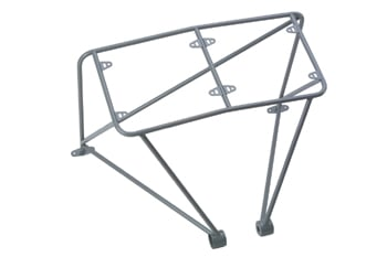 C/E7605 -Round Tube Dual Chute Pack Mount (Unwelded) Pictured