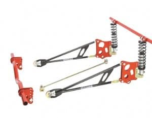 C/E3633 -Stage II Ladder Bar Suspension with Coil Spring Mounts Springs & Shocks