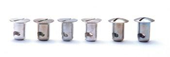 C/E2875 -7/16'' Diameter Stud .550 Steel Flush Head-Counter Sunk