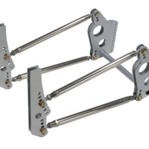 C/E3515 -Top Gun Four-Link Kit w/shock Mt Bkts (Less Rod Ends)
