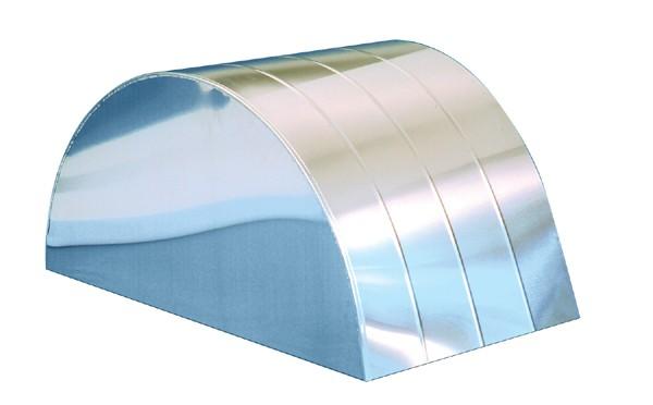 """C/E3683 -23"""" X 40"""" X .040"""" Aluminum Tubs - No Bead Rolls (pr)"""