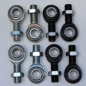 C/E3502 -Four Mild Steel and Four 4130 Chrome Moly Rod End Kit