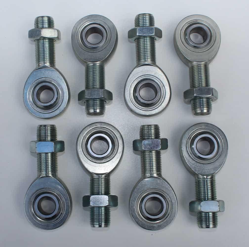 "C/E3503 -4130 Chrome Moly Three-Piece Rod End Kit 3/4"" x 3/4"""