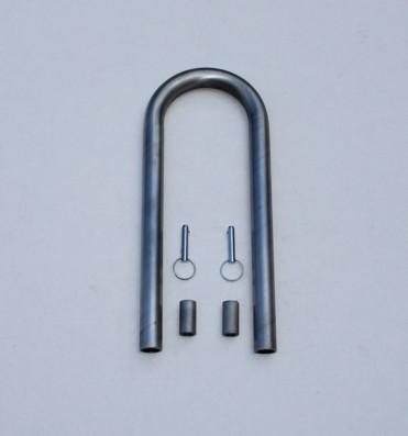C/E4034 -U-Bend Driveshaft Loop w/ Sleeves & Pins