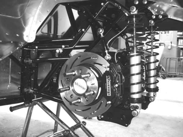 C/E5006 -Mild Steel Kit w/ Heavy Duty Strange Front Brakes