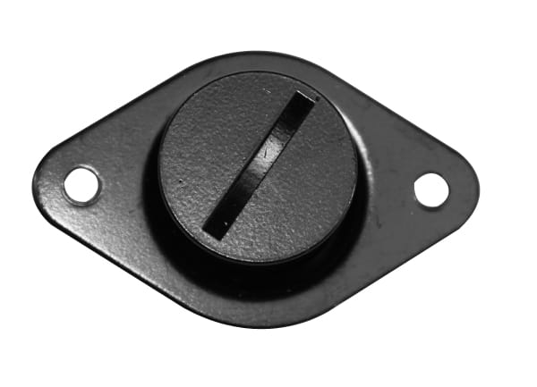 C/E2850BK -Black Button .500 Large Self Ejecting Fastener