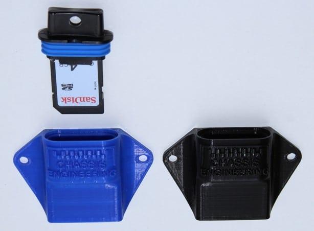 RacePak(tm) SD Card Holder