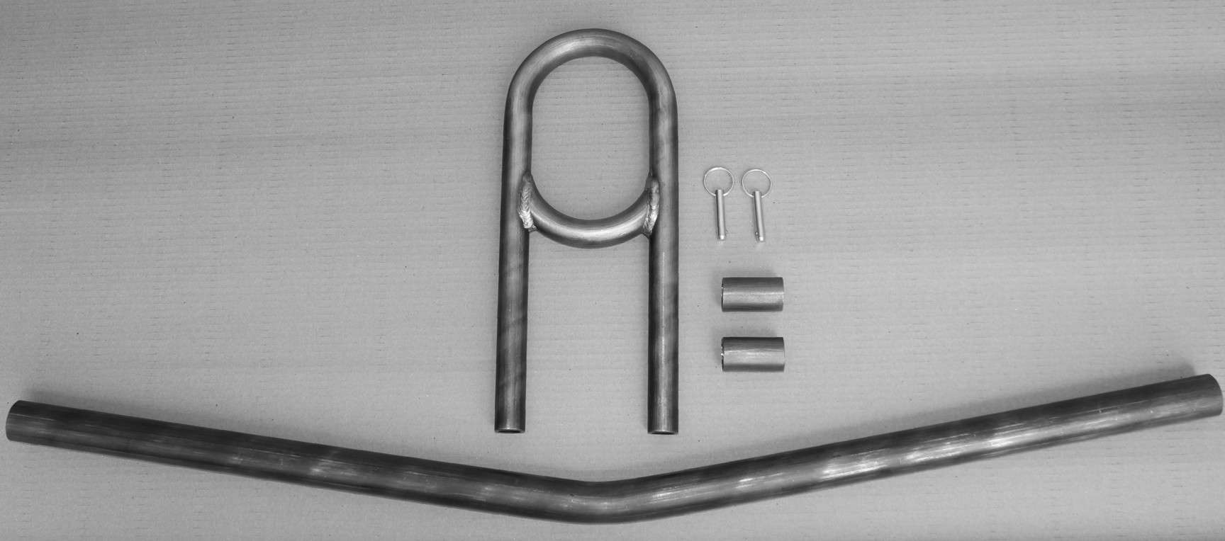 """C/E4036 -4"""" Mild Steel 360 Deg. Driveshaft loop kit w/crossmember"""