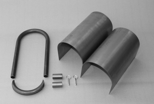 """C/E4050 -12"""" Driveshaft Containment with Loop Kit"""