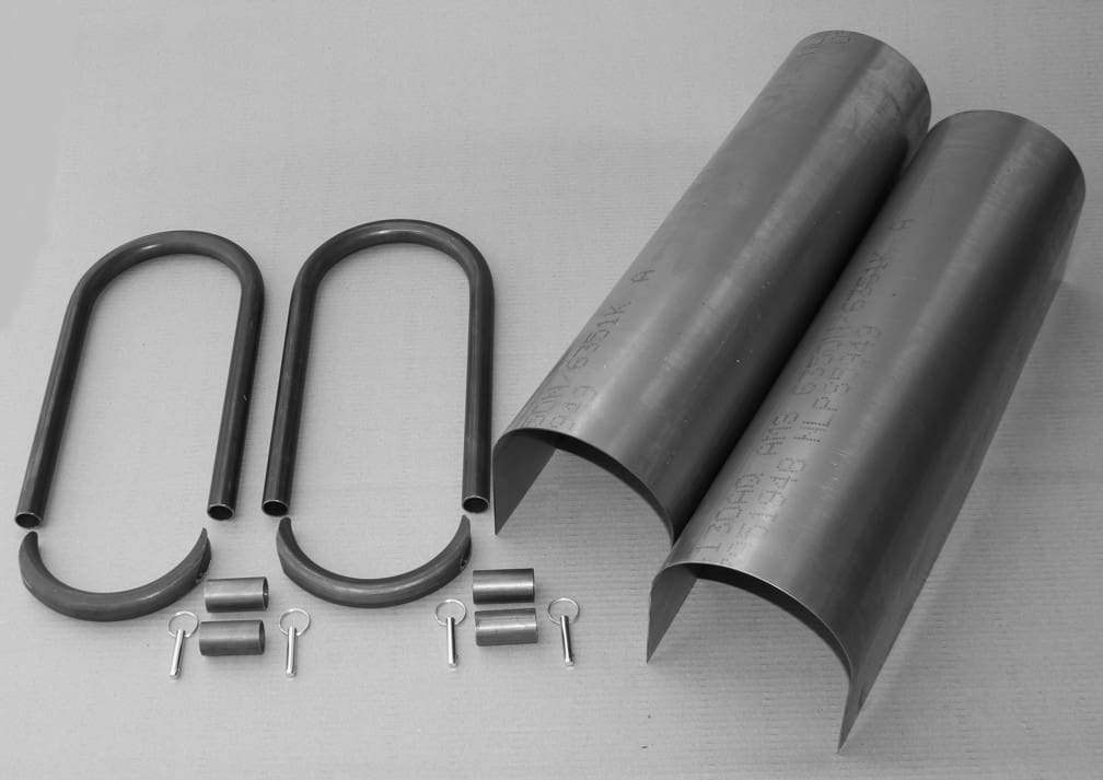 """C/E4052 -24"""" Driveshaft Containment with Loop Kit"""