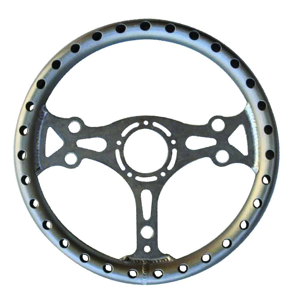 C/E2740 - Ultra-light Aluminum Competition Steering Wheel